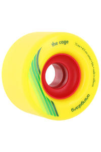 Orangatang The Cage 73mm 86A Rollen (yellow) 4er Pack