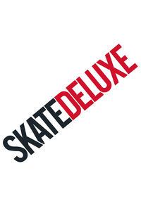 SK8DLX Logo 80 cm Sticker (white)