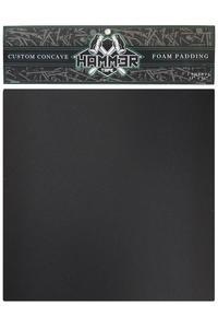 "Landyachtz Hammer 11"" x 11"" Custom Concave Foam Grip adesivo (black) pacco da 2"