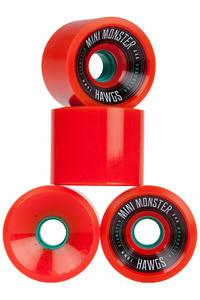 Hawgs Mini Monster 70mm 84A Wiel (orange) 4 Pack