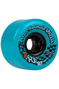 Sector 9 Race Formula 73mm 80A CS Ruote 2014 (blue) 4er Pack