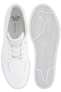 Nike SB Zoom Stefan Janoski Leather Schuh (white white wolf grey)