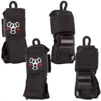 Triple Eight Derby Bescherming-Set 3er Pack kids (black)
