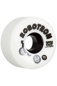 Robotron Wide Cut 52mm Roue 4er Pack (white)