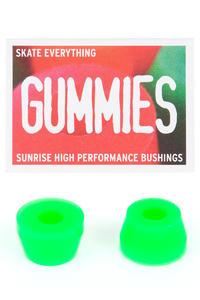 Sunrise Gummies Double Cone 90A Bushings (green) 2er Pack