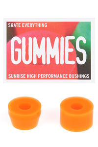 Sunrise Gummies Barrel Cone 80A Bushings (orange) 2 Pack