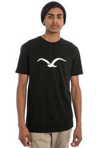 Cleptomanicx Möwe T-Shirt (black creme)
