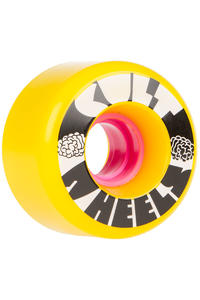 Cult IST 63mm 80A Wheels (yellow) 4 Pack
