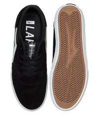 Lakai Griffin Suede Shoes (black white)