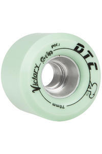 DTC Wheels Victory GRIP 70mm Roue (mint green) 4er Pack