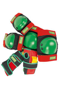 TSG Protection Junior Set di protettori kids (rasta)