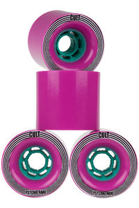 Cult Rapture 74mm 77A Wiel (purple) 4 Pack