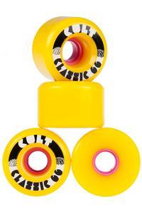 Cult Classics 66mm 80A Wiel (yellow) 4 Pack