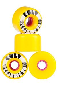 Cult Classics 70mm 80A Wiel (yellow) 4 Pack
