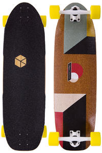 "Loaded Truncated Tesseract 33"" (84cm) Longboard completo"