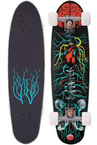 "Riviera Anatomy of a Skateboard 30"" (76,2cm) Cruiser (black)"