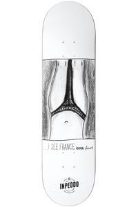 Inpeddo x Forvert France 7.75 Planche Skate  (white)
