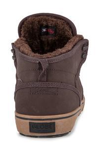 Globe Motley Mid Nubuck Shoes (brown brown fur)