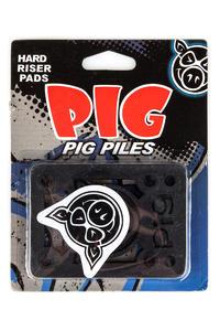 "Pig Piles 1/8"" Riser Pads (black) 2er Pack"