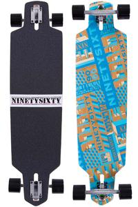 "Ninetysixty BooBam 39.4"" (100cm) Longboard-Complète 2015"