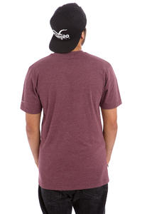 Cleptomanicx Möwe T-Shirt (heather tawny port)