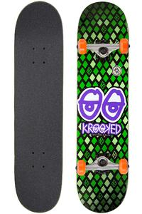 "Krooked Nobel Eyes 7.5"" Board-Complète (green)"