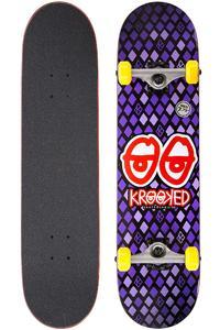 """Krooked Nobel Eyes 7.75"""" Board-Complète (purple)"""