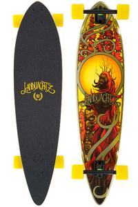 "Landyachtz Bamboo Totem Chili 41"" (104,1cm) Longboard completo"