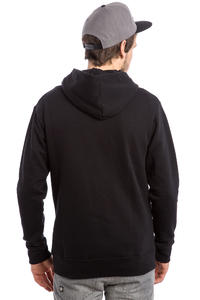 SK8DLX Classic Felpa Hoodie con zip (black)