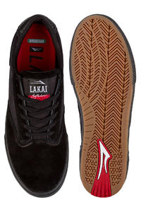 Lakai Guymar Suede Shoes (black black)