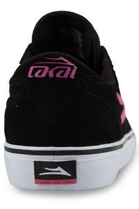 Lakai Manchester McCrank Suede Shoe (black pink)