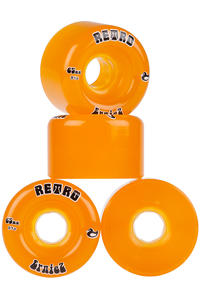 ABEC 11 Retro ErnieZ 65mm 81A Ruote (orange) pacco da 4