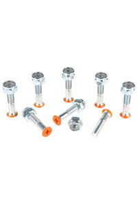 "Shortys 1"" Set de vis (orange) Flathead (tête fraisée) cross slot"