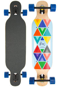 "Rise Indie Blue 37.5"" (96,5cm) Complete-Longboard"