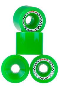 Metro Wheels DHR-II 70mm 78A Rollen (green) 4er Pack