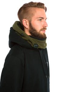 Antix Fleece Hood Neckwarmer (olive black)