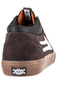 Lakai Griffin Mid Suede Shoes (brown gum)
