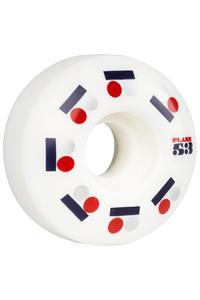Plan B Team Iconic 53mm Wheel (white) 4 Pack