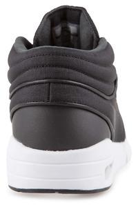 Nike SB Stefan Janoski Max Mid Schuh (black black metallic silver)