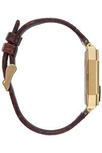 Nixon The Re-Run Leather Uhr (brown croc)