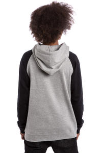 SK8DLX Easy Raglan sweat à capuche (black heather grey)