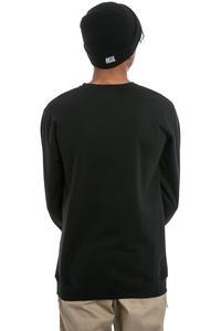 Cleptomanicx Möwe Sweatshirt (black creme)