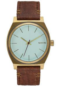 Nixon The Time Teller Orologio (brass green crystal brown)
