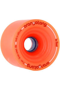 Orangatang In Heat 75mm 80A Rollen (orange) 4er Pack