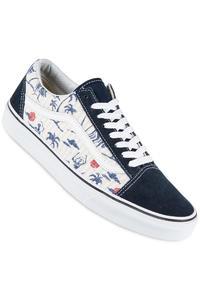 Vans Old Skool Shoe (hula dress blues true white)