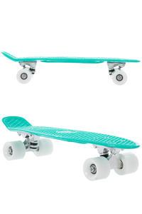 """SK8DLX Asphalt 22"""" Cruiser (turquoise white)"""