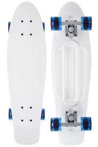 "SK8DLX Asphalt 27"" Cruiser (white clear blue)"