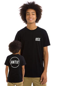 Antix Circle T-Shirt (black)