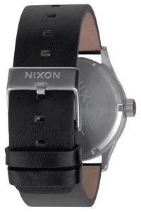 Nixon The Sentry Leather Uhr (black)