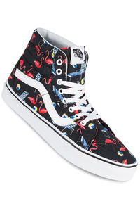 Vans Sk8-Hi Reissue Shoe (pool vibes black true white)